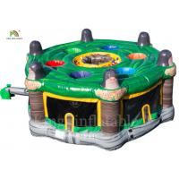 China 4.2 m Diameter Inflatable Human Whack A Mole Interactive Sports Games wholesale