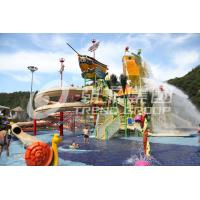 China Safe Pirate Ship Medium Water Play Equipment Funny Slide Resort on sale