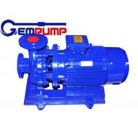 China Low speed Inline Water Booster Pump ISW Horizontal Pipe ≤ 1.6Mpa Maximum working pressure wholesale