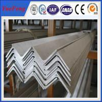 China 6063 v slot aluminum profile / l shaped aluminum extrusion manufacturer / aluminum l angle on sale