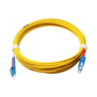 China 9/125 Duplex SC/UPC-SC/UPC Fiber Optic Patch Cables Single Mode wholesale