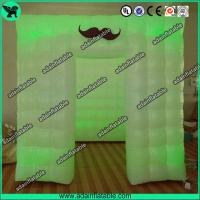 China Hot Sale 2.5*2.5*2.5 PVC Inflatable Photo Booth For Wedding Event Decoration wholesale