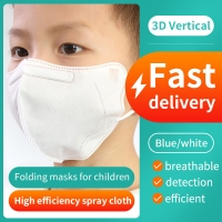 China 5 Layers Kn95 PFE 80% Children'S Disposable Face Masks wholesale