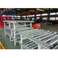 China 1850mm Length Automatic Storage System Powered Roller Conveyor Supportive Brackets on sale