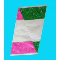 Triangle Flower Wrapping Sleeves without Header , Floral Flowers Packaging Sleeves