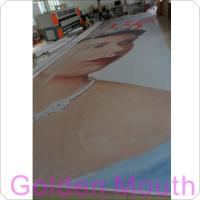 Canvas / PVC Vinyl Banners Custom Banner Flags With Inkjet Printing