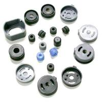 China Hardness Shore A Custom Silicone Rubber Shock Absorption Parts for Motorcycles, Ships wholesale