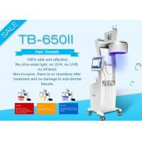 China Touch Screen Laser Hair Growth Machine For Clinic / Salon Two Years Guarantee wholesale