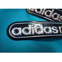 China Customized Rubber Patch With Pvc Logo / Embossed 3d Iron On Cloth Patches wholesale