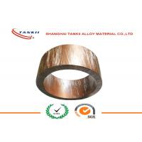 China Strip Soft Bright Shunt Manganin Alloy of Copper and Nickel 1mm * 10mm for Shunt Resistance wholesale