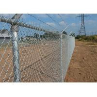 China Galvanized Chain Link Mesh Roll 1 meter Width X 25M Width ETC on sale