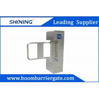 China 100W Magnetic Card Reader Vertical Barrier Gates For Access Control Management wholesale