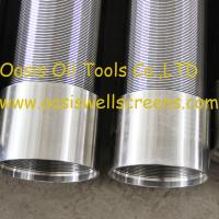 China Oasis Oil Tools Supplies Continuous slot vee shaped wire water well screens wholesale