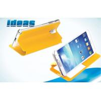 China Yellow Mobile Covers Samsung Galaxy Leather Flip Cases for Galaxy Note 3 on sale