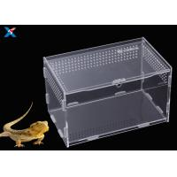 China Customized Clear Acrylic Furniture , Acrylic Reptile Box OEM / ODM Available wholesale