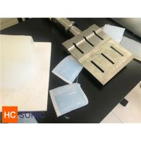 China 20 Khz Full Wave Slotted Ultrasonic Horn For Ultrasonic Rubber Cutting wholesale