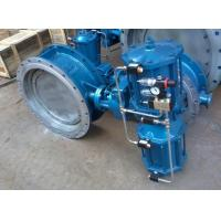 Pneumatic Metal Seat Butterfly Valves DN300 PN10 For Industrial Waste Water