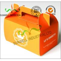 China Offset Printing Corrugated Cardboard Food Food Serving Boxes Art Paper Top E Flute wholesale