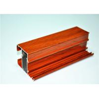 China Wood Grain Aluminium With Mill Finished wholesale