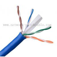 China Four Pair HDPE Cat6 UTP Cable Cooper Clad Aluminum / Bare Cooper on sale