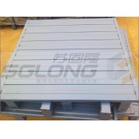 China Waterproof Galvanized Powder Coating Steel Metal Pallets Single Faced Eco-Friendly wholesale