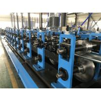 China 16 Stations Rectify Top Hat Roll Forming Machine With Framous Electric Elements wholesale