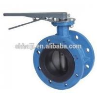 China ASME Wafer Type Butterfly Valve , Certified Double Flange Butterfly Valve DN40 - DN600 on sale