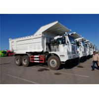 China 371/420 HP HOWO Tipper 6x4 Sinotruk Dump Truck 70 Tons Loading Water Cooling System wholesale