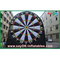 China 5m Height Inflatable Sports Game 0.55mm PVC Football Darts Board For Playing on sale
