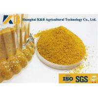 China SGS HACCP Poultry Feed Corn Gluten Meal 40kg Bag Package Slight Smell And Taste on sale