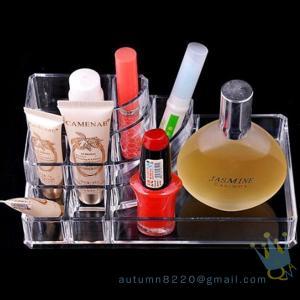 China acrylic cosmetic display organizer wholesale