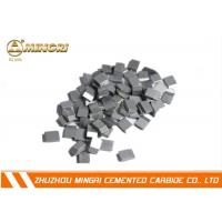 China Welding Tungsten Carbide Saw Tips , Tungsten Carbide Tool Tips Cutting Plywood wholesale