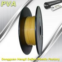 China Water Soluble Support Material PVA 3D Printing Filament 1.75 / 3.0 mm Natural wholesale