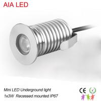 China 3W DC12V alumnium IP67 outdoor LED spot lighting/ led underground light with built-in driver wholesale