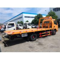 China Right / Left Hand Drive 3 Ton Wrecker Tow Truck Euro 3 Manual Transmission Type on sale