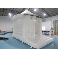 China Outdoor 0.55mm PVC Tarpaulin Inflatable Bounce House wholesale