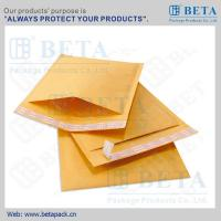 China BETA Golden Kraft Bubble Mailer #0 Ecolite Mailers With Strong Adhesive Tape wholesale