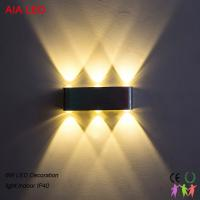 China 6W Bridgelux inside high power  IP20 modern up down light LED wall light for hotel decoration wholesale
