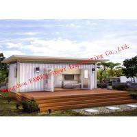 China Lightweight 40ft Prefab Container House For Living Accommodation With Painted Surface wholesale