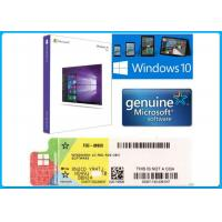 China Full Version Genuine License Microsoft Computer Software Window 10 Pro OEM Key on sale