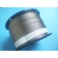 Buy cheap AISI304L 7x7 0.5mm steel wire rope from wholesalers