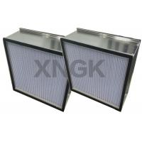 China Spary Room Fine Diaphragm Air Hepa Type Filter Aluminum Separator High Air Flow Rate wholesale