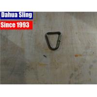 China Professional Plastic / Rubber Surface Custom SS Ratchet Strap Hooks , 50mm D Ring wholesale