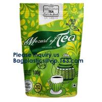 China Coffee Packaging Bags Flat Bottom Coffee Bag Stand up Coffee Bags Side Gusset Bags Flat Side Seal Coffee Bags on sale