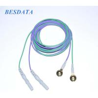 China Medical Diagnosis Coated Gold Cup EEG Electrodes Electroencephalogram EEG wholesale