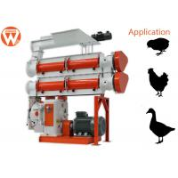 China 380V 3 Phase 90Kw Feed Pellet Machine 3 - 8T/H 1.5 - 12mm Pellet Size wholesale