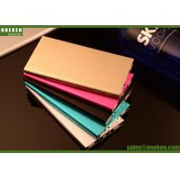 Quality Emergency Mobile Charger 6000mAh Ultrathin Portable Mobile Power Banks for sale