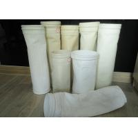 China Needle punched Nonwoven Dust Filter Bag Nomex / PPS / FMS filter fabric wholesale