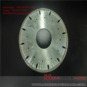 China Metal Bond Diamond Cutting Disc Glass Ceramics Tungsten Carbide Cut Off Wheels ALisa@moresuperhard.com wholesale