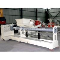 China Plastic Recycling Pellet Machine , Single Screw Extruder Recycling Granulator Machine  wholesale